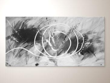 Acrylbilder modern kaufen, Designbilder in schwarz weiss